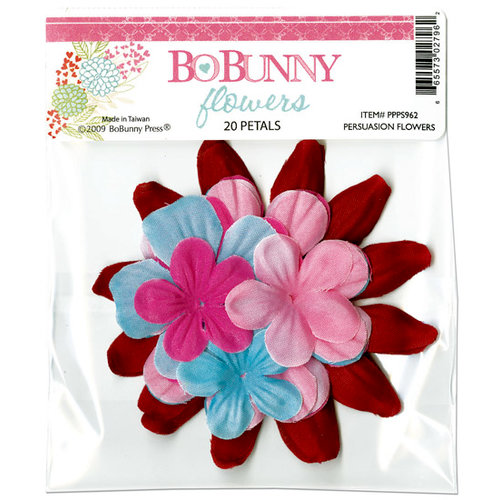 Bo Bunny Press - Persuasion Collection - Flowers, CLEARANCE