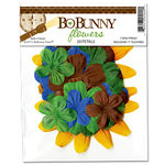 Bo Bunny Press - Roughin' It Collection - Flowers, CLEARANCE