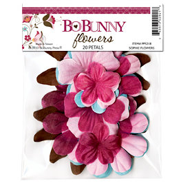 Bo Bunny Press - Sophie Collection - Flowers