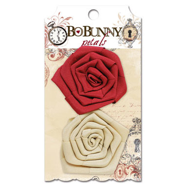 Bo Bunny - Timepiece Collection - Flower Embellishments - Petals