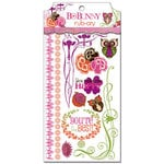 Bo Bunny - Garden Girl Collection - Rub Ons