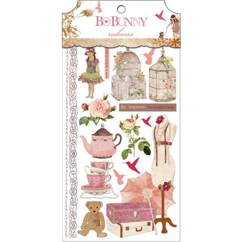 Bo Bunny - Little Miss Collection - Rub Ons