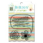 Bo Bunny Press - Ad Lib Collection - Clear Acrylic Stamp