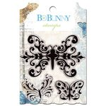 Bo Bunny - Country Garden Collection - Clear Acrylic Stamp