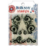 Bo Bunny Press - Liberty Collection - Clear Acrylic Stamp