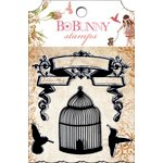 Bo Bunny - Little Miss Collection - Clear Acrylic Stamps