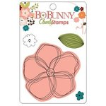 Bo Bunny Press - Olivia Collection - Clear Acrylic Stamps - Olivia