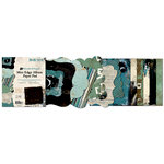 Bo Bunny Press - Mama-razzi Collection - Mini Edgy Album Paper and Die Cut Pad - 6.25 x 7.25, BRAND NEW