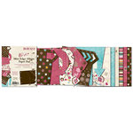 Bo Bunny Press - Sophie Collection - Mini Edgy Album Paper and Die Cut Pad - 6.25 x 7.25