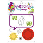 Bo Bunny Press - Sun Kissed Collection - Clear Acrylic Stamps - Sun Kissed