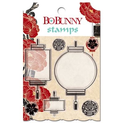 Bo Bunny - Serenity Collection - Clear Acrylic Stamp