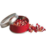 Bo Bunny Press - All Stuck Up - Magnetic Storage Container - Brads - Wild Berry, CLEARANCE