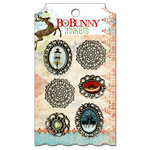 Bo Bunny - Blitzen Collection - Christmas - Metal Embellishments - Trinkets