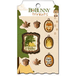 Bo Bunny - Camp-A-Lot Collection - Metal Embellishments - Trinkets