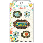 Bo Bunny - Hello Sunshine Collection - Metal Embellishments - Trinkets