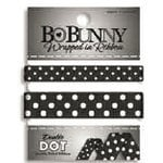 Bo Bunny - Double Dot - Wrapped In Ribbon - Licorice