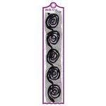 Bo Bunny Press - Whoo-ligans Collection - Halloween - Rose Trims - Purple, CLEARANCE