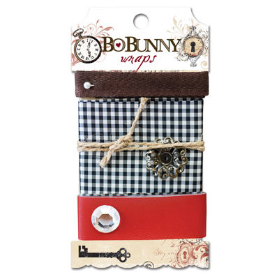 Bo Bunny - Timepiece Collection - Ribbon Wraps - Timepiece