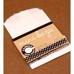 Canvas Corp - Mini Bags - White