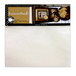 Canvas Corp - Tissuestock Collection - 12 x 12 Tissue Paper Pack - White