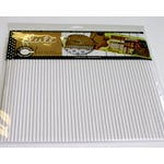 Canvas Corp - 12 x 12 Corrugated Paper - C-Flute Tile - White, BRAND NEW