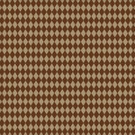 Canvas Corp - Chocolate and Kraft Collection - 12 x 12 Paper - Diamonds