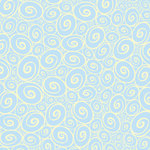 Canvas Corp - Baby Collection - 12 x 12 Paper - Blue and Ivory Swirl Reverse