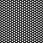 Canvas Corp - Black and White Collection - 12 x 12 Paper - Dot Reverse