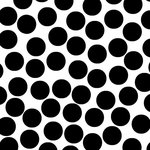 Canvas Corp - Black and White Collection - 12 x 12 Paper - Big Dot