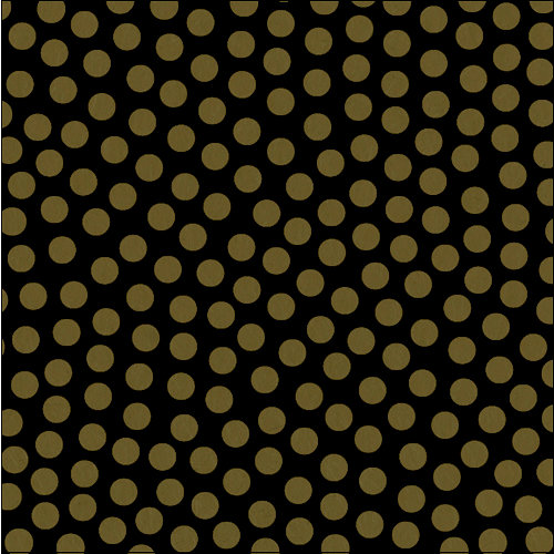 Canvas Corp - Black and Kraft Collection - 12 x 12 Paper - Dot Reverse