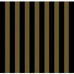 Canvas Corp - Black and Kraft Collection - 12 x 12 Paper - Big Stripe