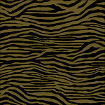 Canvas Corp - Black and Kraft Collection - 12 x 12 Paper - Zebra