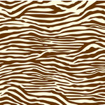 Canvas Corp - Chocolate and Vanilla Collection - 12 x 12 Paper - Zebra