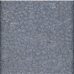 Canvas Corp - Handmade Collection - 12 x 12 Paper - Embossed Floral Pewter