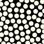 Canvas Corp - Black and Ivory Collection - 12 x 12 Paper - Big Dot Reverse