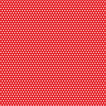 Canvas Corp - Red and Ivory Collection - 12 x 12 Paper - Mini Dot Reverse