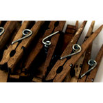 Canvas Corp - Decorative Clothespins - Jacobean