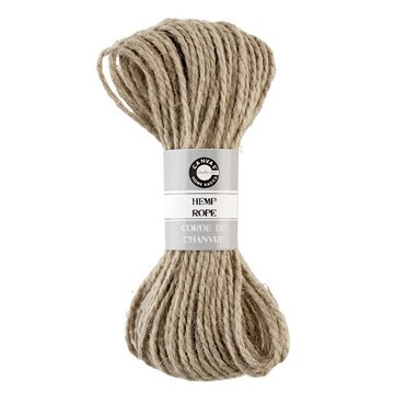 Canvas Corp - Hemp Rope - Natural - 45 Feet