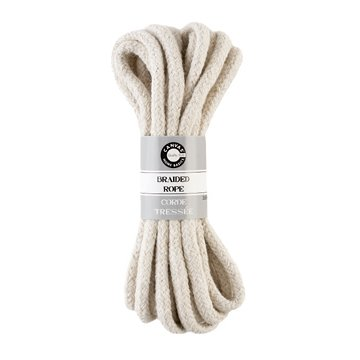 Canvas Corp - Braided Rope - White - 12 Feet