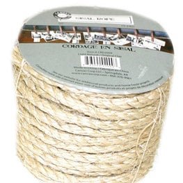 Canvas Corp - Sisal Rope - Light Natural - 50 Feet