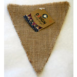 Canvas Corp - Burlap Shapes - Triangle