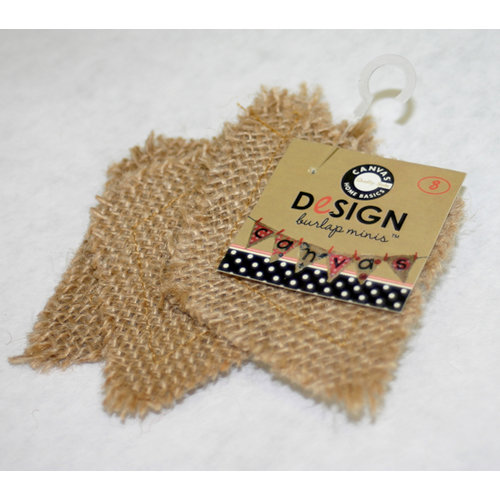 Canvas Corp - Burlap Shapes - Mini - Diamond