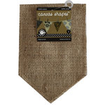 Canvas Corp - Burlap Shapes - Pocket