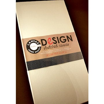 Canvas Corp - Stretched Natural Canvas - 12 x 24