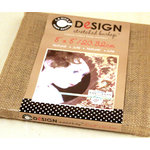 Canvas Corp - Burlap Stretched Canvas - 8 x 8
