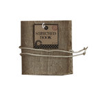 Canvas Corp - Burlap Stitched Book - 6 x 6