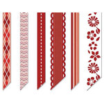 Chatterbox - Decorative Ribbon II - Scarlet - Red, CLEARANCE