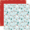 Carta Bella Paper - All Bundled Up Collection - Christmas - 12 x 12 Double Sided Paper - Snowmen