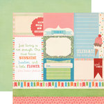 Carta Bella Paper - Alphabet Junction Collection - 12 x 12 Double Sided Paper - Alpha Cards