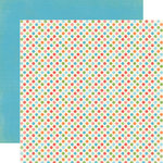 Carta Bella Paper - Alphabet Junction Collection - 12 x 12 Double Sided Paper - Dear Little Dots